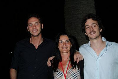 Un trio vincente: Enrico Passoni, Enrica Corsi e Alberto Boccaccio